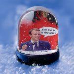 Emmanuel Macron Snow Globe